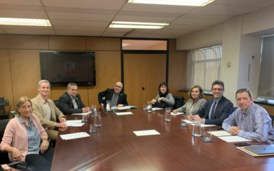 Reunió amb el Conseller d'Educació
